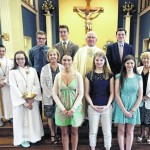 Marian Award winners honored during Mass at Queen of the Apostles Parish in Avoca