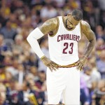 LeBron's efforts fall short for Cleveland