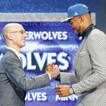 Timberwolves select Towns with No. 1 pick in NBA draft
