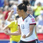 Germany hammers Sweden to reach World Cup quarters