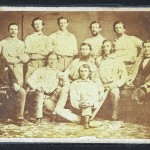 Pre-Civil War baseball card going to auction