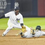 Teixeira homers twice to help Sabathia, Yankees beat A's 5-4