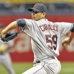 Carrasco loses no-hitter in 9th