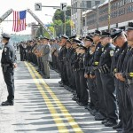Hundreds of police officers pay final respects to Patrolman Wilding in Scranton
