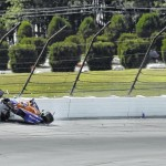 IndyCar NotebookKimball walks away from qualifying crash