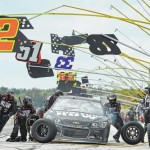 Truex's bid for Pocono sweep runs dry