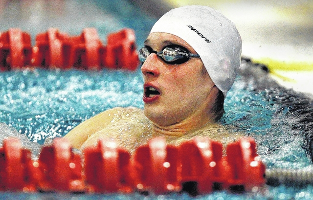 Times Leader Wyoming Valley West Graduate Ed Zawatski Out To Achieve Swimming Dream