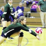 Girls volleyball: Wyoming Area survives stern test at GAR