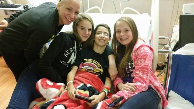 Swoyersville boy on a long road to recovery from car crash