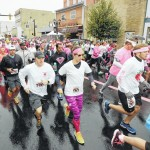 Pretty in pink, runners, walkers, men in heels raise money for breast cancer research