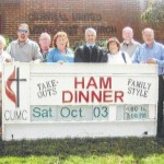 Ham dinner at Central United Methodist