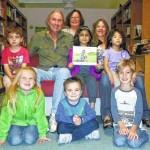 Montessori School students take part in reading