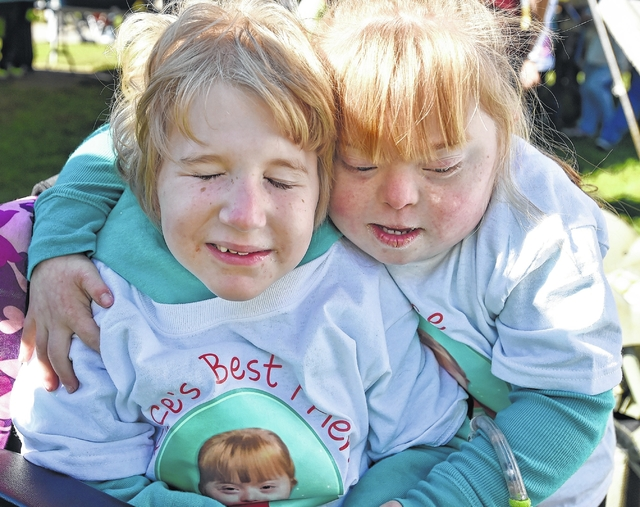 Buddy Walk of Luzerne County draws a crowd to support those with Down Syndrome
