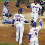 Wright, Granderson HR, Mets beat Royals