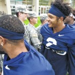 Nittany Lions keeping cautious against Army's triple option