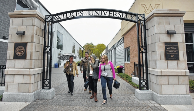 Wilkes University's new gateway connects to the past and links to the future
