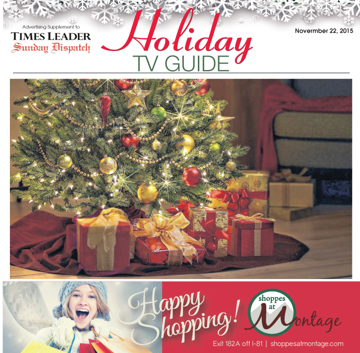 2015 Holiday TV Listing