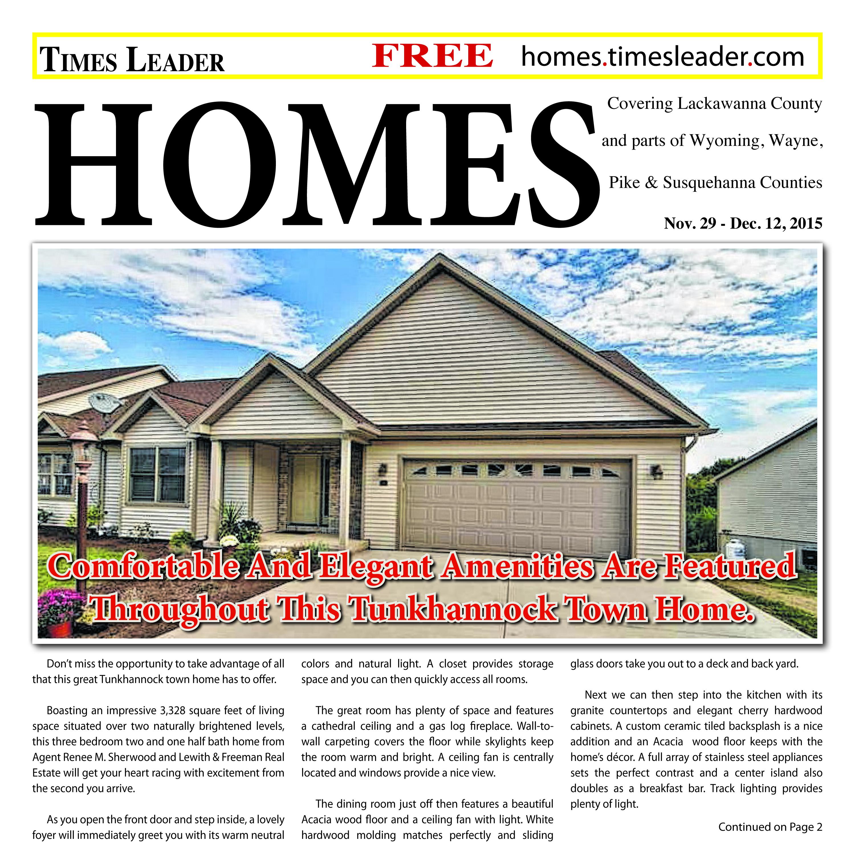 Lackawanna Homes – Nov. 29, 2015