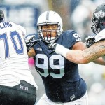 Penn State's Austin Johnson focused on season as NFL stock rises