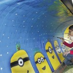 Lehman-Jackson Elementary School students add color to winter with murals on township plows