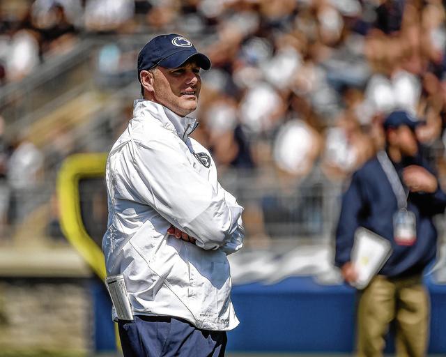 Penn State fires offensive coordinator Donovan