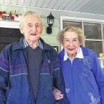 Happy anniversary to Mr. & Mrs. Adam Bonk!