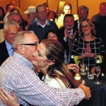 Luzerne County DA Stefanie Salavantis wins second term, DeLuca concedes