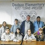 G.A.R. band students lead Dodson Halloween Parade