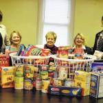 GFWC-West Side Women's Club donates food baskets