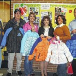 Knights of Columbus donates coats to K.M. Smith School