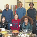 The NAACP Student chapter at LCCC held a bake sale