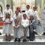 St. Robert Bellarmine Parish in Wilkes-Barre celebrated All Saints Day