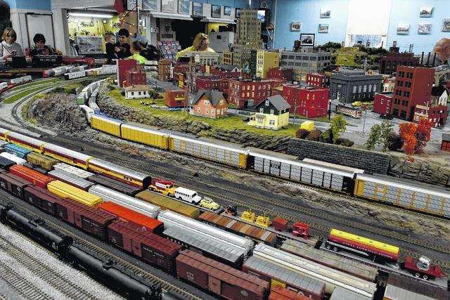 Hudson Model Railroad Club hosts open house