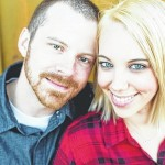 Lora Kormos and John Stanish engagement