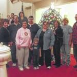 Christmas Caroling and tree lighting at Second Presbyterian Church