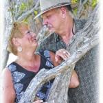 Sandra and Arthur Walton celebrate their 30th wedding anniversary