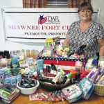 Shawnee Fort Chapter DAR collections will benefit veterans