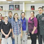 Solomon/Plains Jr. High School commemorates Veterans Day