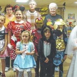 The Bennett Presbyterian Church of Luzerne holds Halloween party