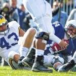 Penn State's offensive line not dwelling on sack total