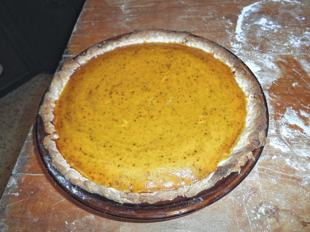 how to make pumpkin pie crust from scratch