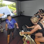 Virtual cycling classes at Vive Health & Fitness in Kingston feature video of rides through Northeastern Pennsylvania