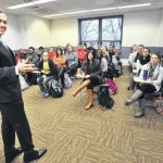 Lt. Gov. Mike Stack at King's College: State budget could come next week