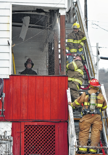Fire chief: Cigarette butt may have sparked fire in Larksville