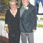 Mr. and Mrs. Dennis Kachmarsky celebrate their 60th wedding anniversary