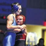 Danny Burkhardt helps Dallas top Coughlin in wrestling