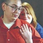 Carissa Lushefski and Anthony Chianese engagement