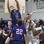 Meyers tops Nanticoke in battle of WVC boys basketball unbeatens