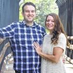 Alyssa Urbanski and Jason Heppding engagement