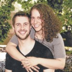 Dr. Emily R. Koval and Dr. Wade M. Branstetter engagement